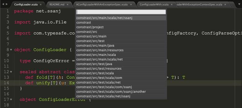 Quick File Creator - Sublime Text Plugin